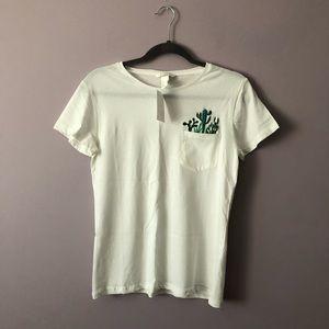 H & M Cactus Pocket T-shirt
